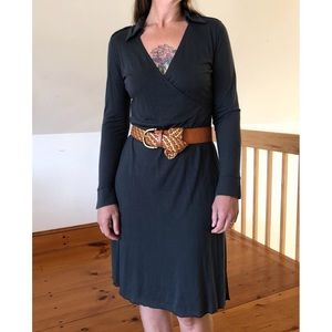 Velvet by Graham & Spencer Collared Dress
